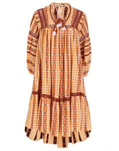 Хлопковое платье с узором Dodo bar or