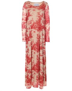 Платье с принтом Von vonni
