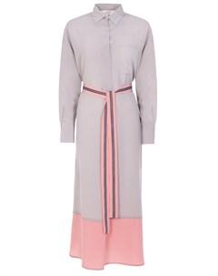 Платье рубашка шелковое Ereda