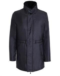 Удлиненная куртка с мехом Schiatti