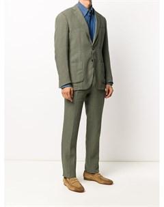 Костюм с однобортным пиджаком Dell'oglio