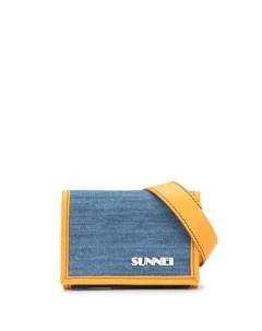 Бумажник с логотипом Sunnei