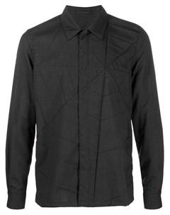 Рубашка с декоративным тиснением Undercover