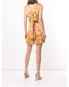 Платье мини Cassara с цветочным принтом Alexis