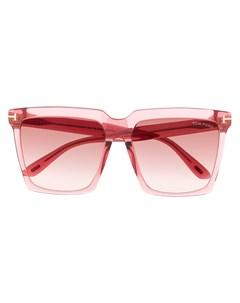 Солнцезащитные очки Sabrina в квадратной оправе Tom ford eyewear