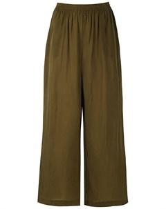 Укороченные брюки широкого кроя Osklen
