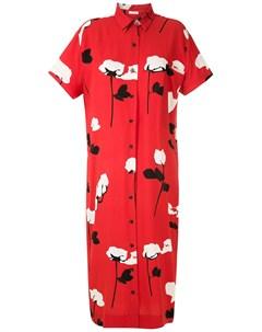 Платье рубашка с цветочным принтом Osklen