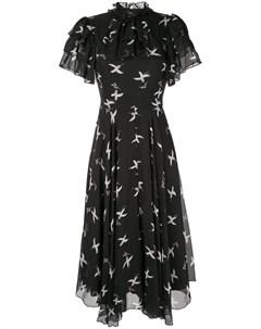 Платье с принтом Flight Bird Macgraw
