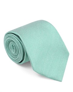 Однотонный галстук из шелка Isaia