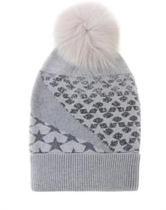 Шерстяная шапка с помпоном Lorena antoniazzi
