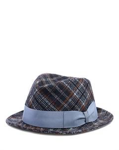 Шляпа в клетку Borsalino
