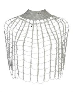 Ожерелье паутинка Rosantica