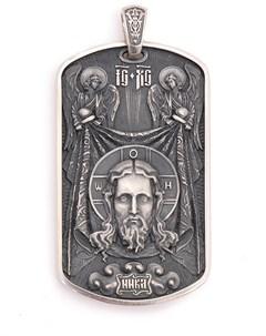 Подвеска серебряная Maximillian silver label