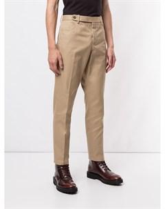 строгие брюки прямого кроя No21