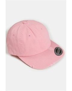 Бейсболка Low Profile Destroyed Cap Pink O S Flexfit