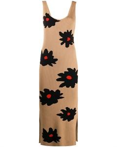 Платье макси с цветочным принтом Chinti & parker