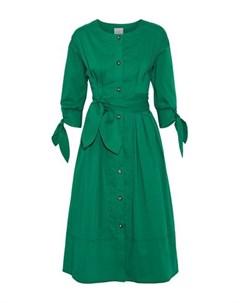 Платье длиной 3 4 Grey jason wu