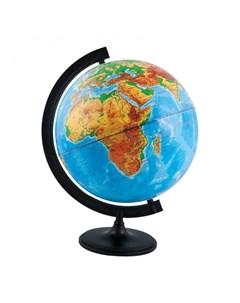 Глобус физический 32 см с подсветкой Глобусный мир