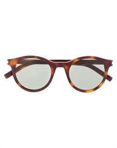 Солнцезащитные очки SL 317 Signature Saint laurent eyewear