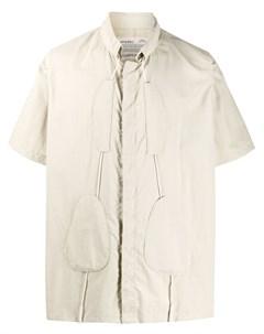 Рубашка с короткими рукавами и кулиской A-cold-wall*