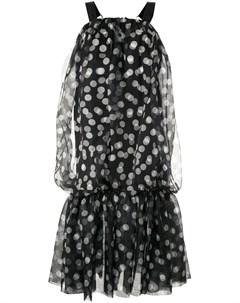 Платье в горох Lee mathews
