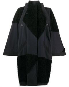 Пальто оверсайз со вставками 132 5. issey miyake