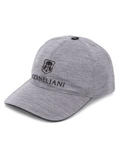 Кепка с вышитым логотипом Corneliani