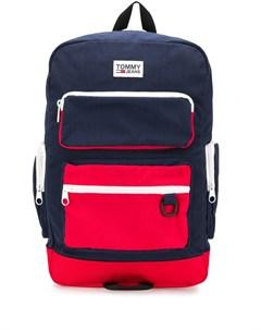 Рюкзак в стиле колор блок Tommy jeans