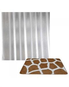 Classic Collor Коврик для ванной комнаты Жираф со шторкой Crystal Shine Banyolin
