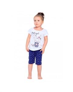 Пижама для девочки Путешественница Веселый малыш