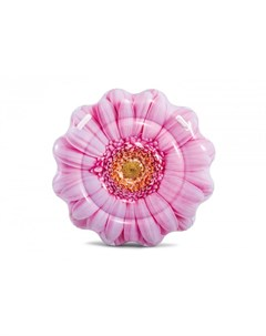 Надувной матрас Розовый цветок 142х142 см Intex