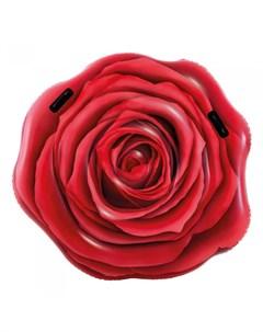 Надувной матрас Роза 137х132 см Intex