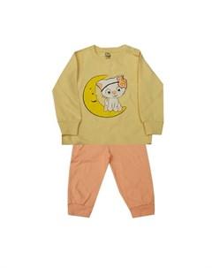 Пижама для девочки 5135 Белый слон