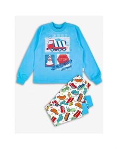 Пижама для мальчика Транспорт Веселый малыш