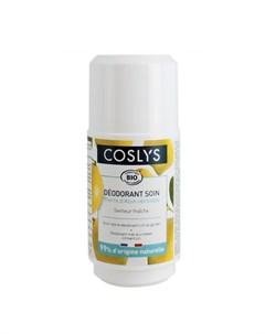 Шариковый дезодорант кристалл Цитрусовый сад 50 мл Coslys