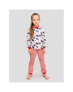 Пижама для девочки Терьер Веселый малыш