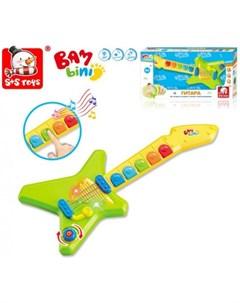 Музыкальный инструмент Гитара Бамбини Наша игрушка