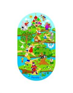 Коврик Kids для ванны Сказки 69х39 см Pondo