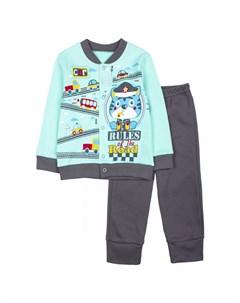 Комплект для мальчика кофта и штанишки КМ140906 M&d