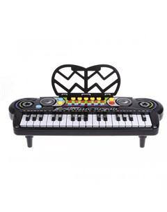 Музыкальный инструмент Синтезатор Magic Piano 34 клавиши Наша игрушка
