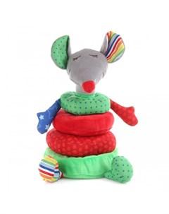 Развивающая игрушка Пирамидка Мышка Ути пути