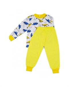 Пижама для мальчика Динозавры Рыжий кот тм