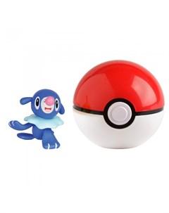 Игровой набор Покебол и Попплио Pokemon