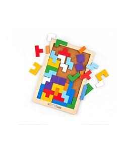 Деревянная игрушка Головоломка Тетрис Raduga kids