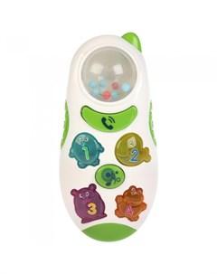Развивающая игрушка Телефон погремушка Учим животных со стихами и песнями Умка