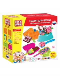 Набор для лепки Мороженое и шоколад Let`s play