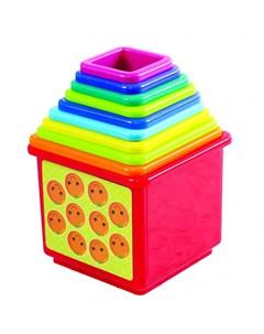 Развивающая игрушка Игровой набор Пирамида Playgo