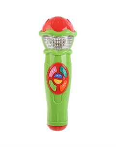 Музыкальный инструмент Микрофон 14 песен и караоке Умка