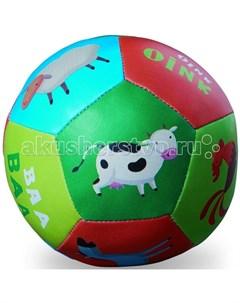 Мяч мягкий Ферма 10 см Crocodile creek