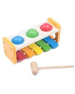 Деревянная игрушка Ксилофон Edufun